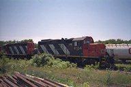 CN Locomotives 4032 and 4134