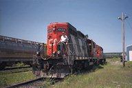 Me on locomotive 4134